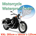 2015 protective motocycle cover motorcycle motorbike waterproof cover dustproof  size 285x105x125cm