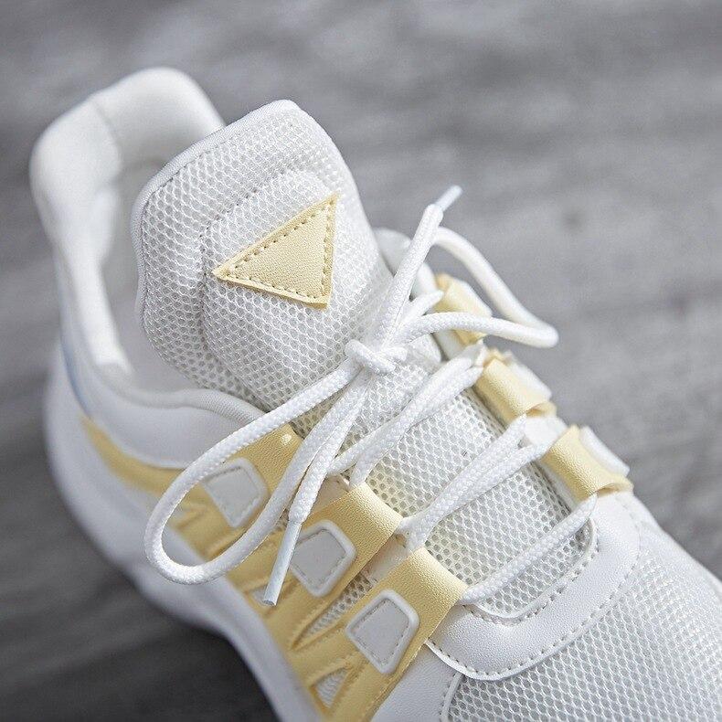 5 Décontracté Pantoufles Chaussures Occasionnels À Vulcanisées 3 Mouvement Dentelle 1 Doux Femmes La 4 Pour Mesh 2 Respirant Mode 2018 Femme nUxgwUq64