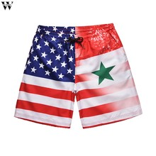 New Hot Beach Shorts Men Summer Quick Dry Comfortable Beachwear Homme Couple Casual Board Short Mar28(China)