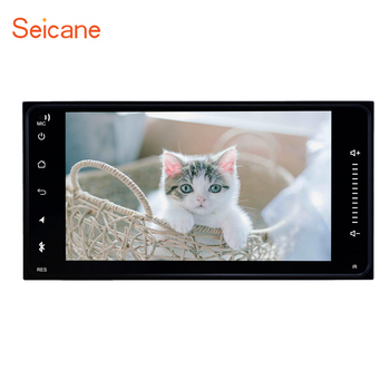 """Seicane 2Din Android 8.1 7"""" Car Multimedia Player gps For TOYOTA RAV4 2001-2008 /Camry 2006 2007 2010 /Terios/2001-2011 HILUX"""