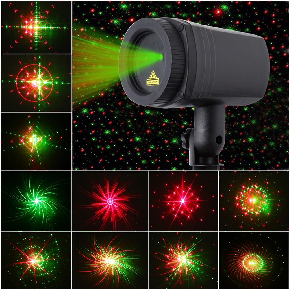Χριστούγεννα αστέρι λέιζερ ντους φως - Εμπορικός φωτισμός - Φωτογραφία 6