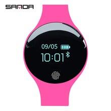 Сандалии Роскошные Смарт часы для женщин для мужчин спортивные калорий Шагомер фитнес часы для Android IOS телефон трекер сна SmartWatch