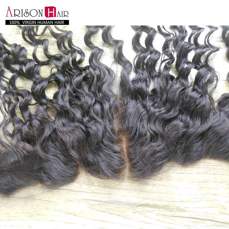 (Free,Middle,3Part) 8-20 Dyeable Natural Color Brazilian Natural Wave Virgin Human Hair 13x4 Lace Frontal Celebrate New Year