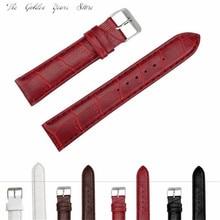New 2017 relogio Reloj watch WristWatch Band Strap 20mm Fashion Man Women Leather Strap Watchband Watch Band Gift 1220d40