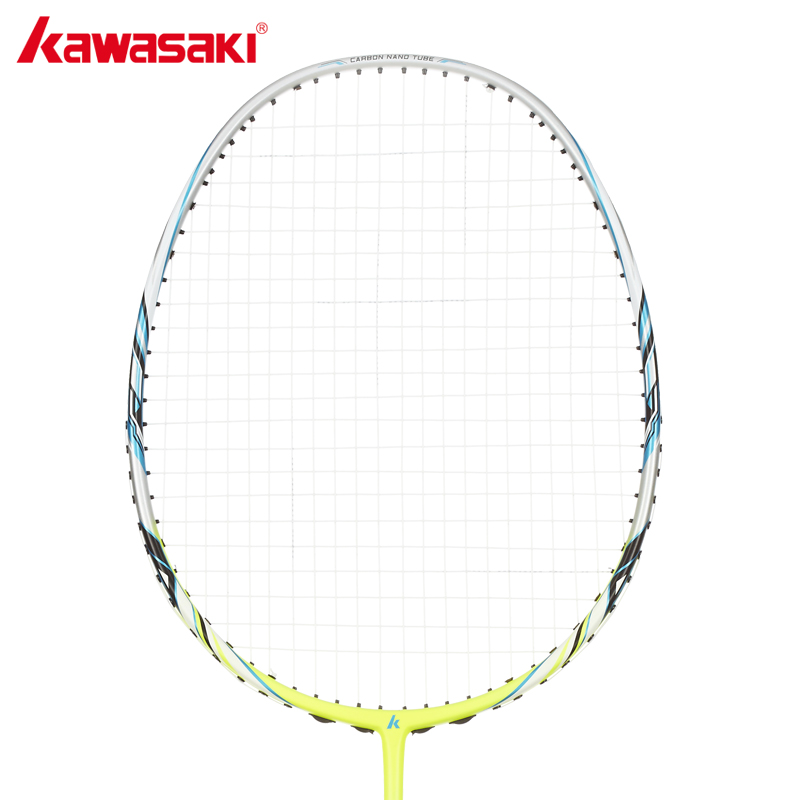 KAWASAKI High Tension S710 18-35 LBS Badminton Graphite Racket Stringing Racquet for Junior Beginners High Quality