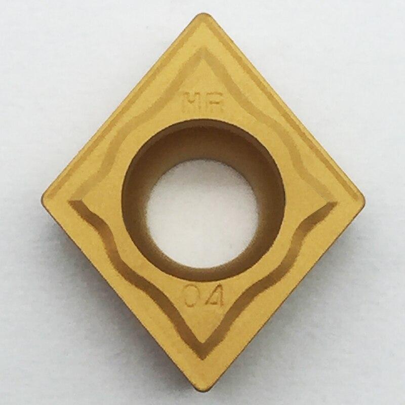 10pcs ZCC.CT CCMT09T304-HR YBC351 CCMT32.15-HR  for steel Original genuine