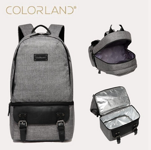 2017 Colorland Super Mommy Backpackl Large Fashion Nappy Bag Waterproof Polyester Diaper Bag Eco-friendly Thermo Bag Mummy Bag