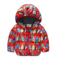 new winter boy girl jacket children bird hooded jacket for girl boy zipper cotton jacket top wear kids clothing outwear