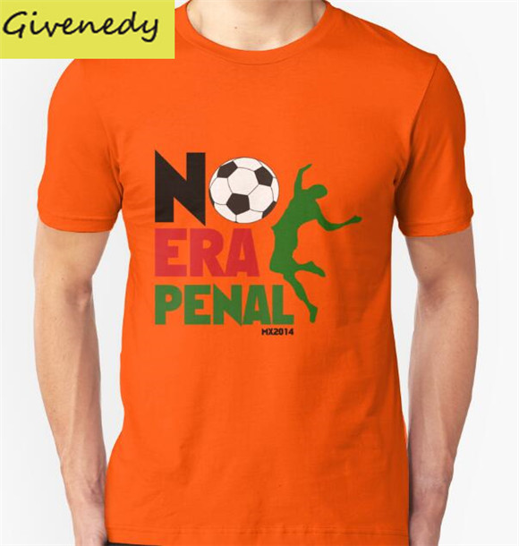 No Era Penal MX printing 2016 New Summer Design cotton short sleeve O-Neck T-Shirt Fashion Tee Shirts Plus Size