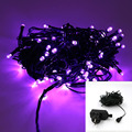 Lighting Strings Newest 100 Leds Fairy Lights LED Low-voltage Dark Green Line Starry Patio String Lights For Outdoor Decoration