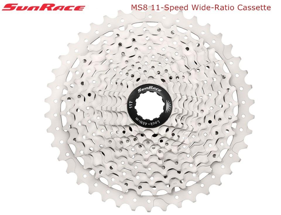 SunRace 11 speed CSMS8 CSMX8 11 40T 11 42 T 11 46 T Wide Ratio Bike