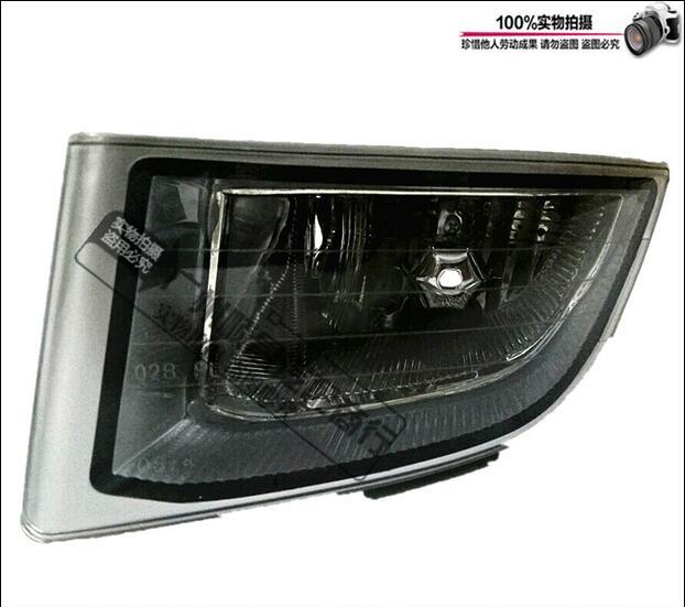 ФОТО Hireno Super-bright LED Daytime Running Light for Toyota Land Cruiser Prado 2003-09 LED Car DRL fog lamp 2PCS