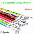 10 pçs/lote 100% de boa qualidade multi-color Ego colar agradável cigarro eletrônico Ego e-cig cordão com um anel
