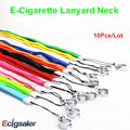10pcs/lot  100% Good quality Multi-color eGo necklace nice Electronic Cigarette Ego E-Cig Lanyard with a Ring
