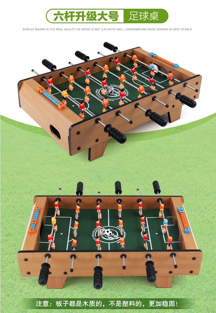Table upgrade large  football desktop multiplayer games machine intelligence For Children Toys children table football game ball machine toys