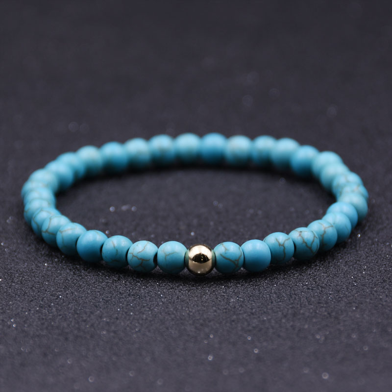 6mm Lava Stone Beads Bracelet Men Strand Bracelets For Women Handmade 2019 Men Jewelry Charm Cuff Wristband Bileklik hot in Strand Bracelets from Jewelry Accessories