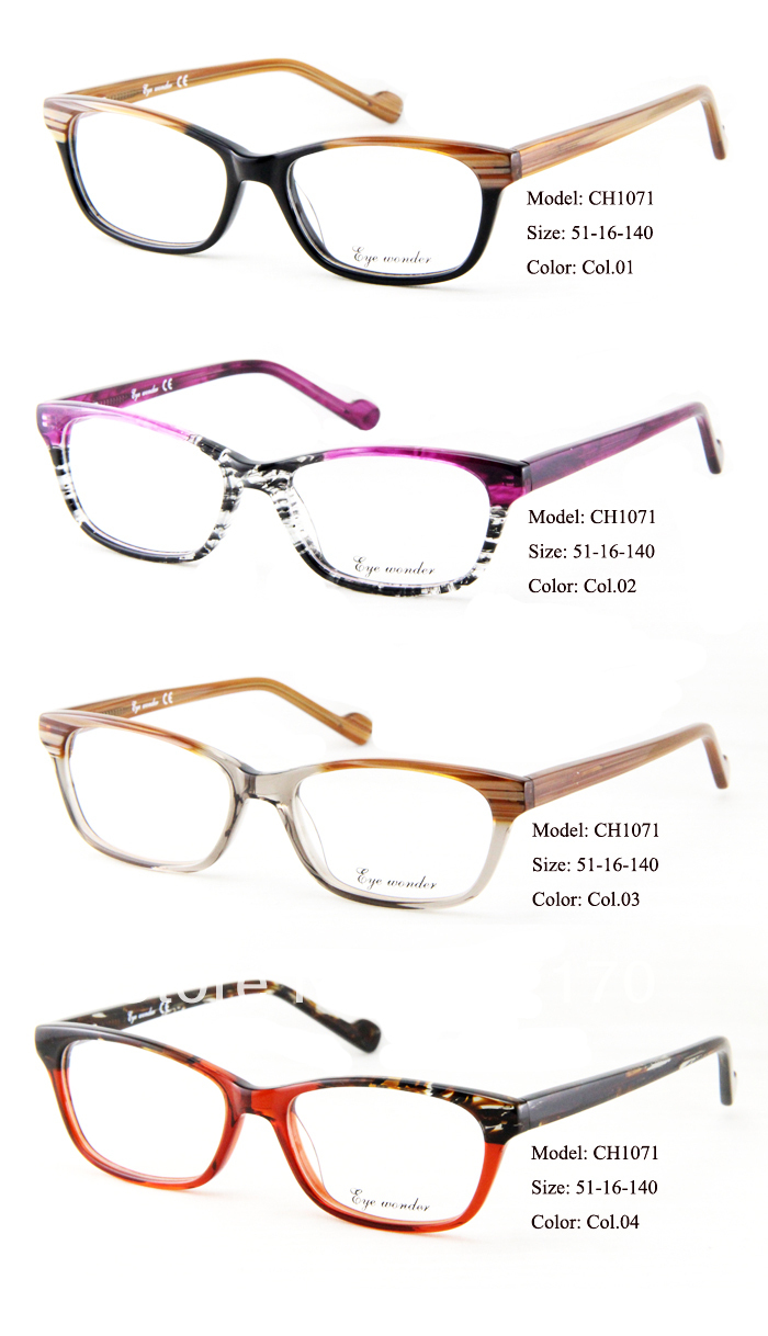 New Arrivals Fashion Glasses Brand Designer Frames Women