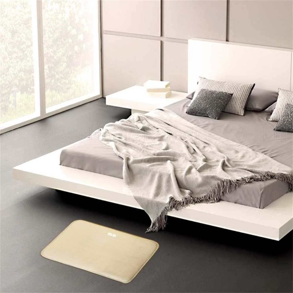 Wrażliwy na nacisk inteligentny budzik dywan elektroniczny zegar cyfrowy sypialnia antypoślizgowe miękka mata uczeń leniwy dzwonek alarmowy prezenty