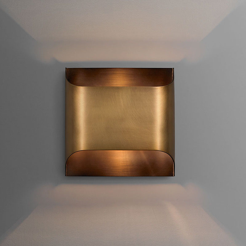 Postmodern copper wall lamp light luxury living room wall lamp creative simple bedroom wall lamp designer model house wall lamp|LED Indoor Wall Lamps|   - title=