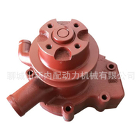 Bomba de água para weifang 495d/zd zh/k4100d k4100zd k4100p peças de gerador diesel weifang 24kw 30kw 40kw|Kits p/ reconstrução do motor|Automóveis e motos -