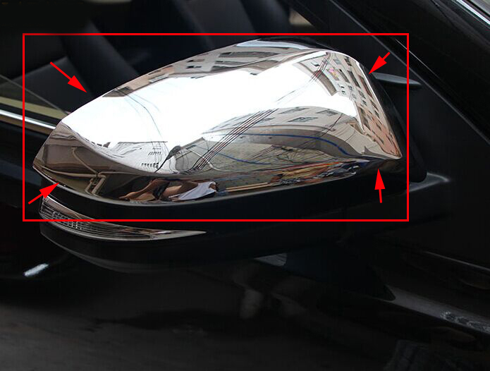 For toyota rav4 accessories ABS chrome full side mirror cover mirrors housing fit for <font><b>rav</b></font> <font><b>4</b></font> <font><b>2014</b></font> 2015 decorative product image