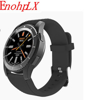 EnohpLX Smart Watch Men Women G8 Blood Pressure Heart Rate Android Wear Wearable Devices Support SIM TF Card for iphone Samsung