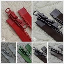 2 Pcs/lot Oversized Plastic Resin Long YKK Zipper Double Open Two-way Fasteners Coat Down Jacket Sewing Accessories Wholesale