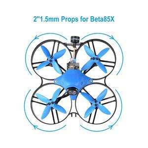 Image 3 - BETAFPV EMAX Avan 16 pièces 2 à 4 Lames Accessoires 1.5mm Arbre Hélices pour Beta85X Whoop Drone 110x 4500 6000KV Moteurs Sans Balais