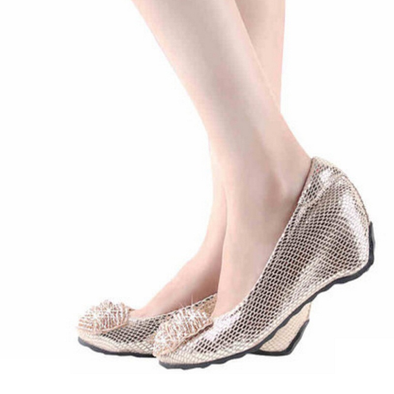 Online Buy Wholesale short wedge shoes from China short wedge