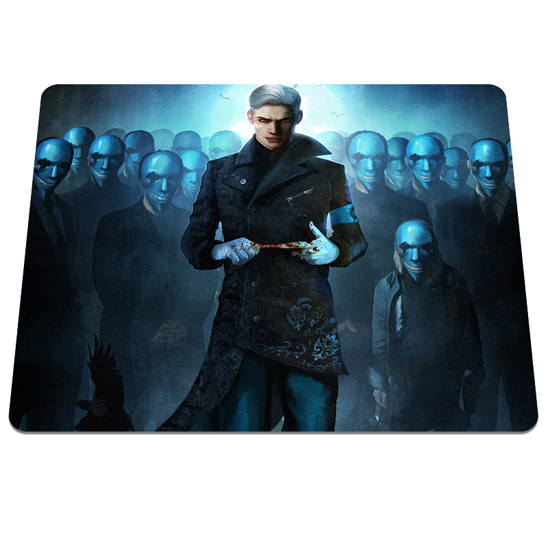 Top fashion Devil May Cry Background Pattern Durable Soft Desktop Gaming Mouse Pad Notebook Computer Mouse Mat