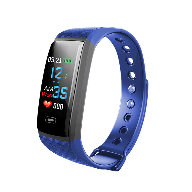 Color Screen Smart Watches Woman Heart Rate Monitoring Electronic Watch Couple S