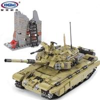 XINGBAO 06015 Military Series New The Scorpio Tiger Tank Set Funny Building Blocks Bricks Toys Educational Christmas Gifts