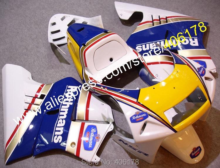 Hot Sales,100% Fitment Fairing for Honda NSR250R MC21 90 91 92 93 1990-1993 NSR 250 R Rothmans fairings (Injection molding)