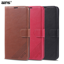 For Huawei y6 2019 Case High Quality PU Leather Stand Case For Huawei y6 2019 Luxury Flip Leather Case Cover For Huawei y6 2019 стоимость