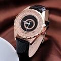 Kezzi cuero marca correa relojes mujeres vestido reloj relogio señoras relojes de pulsera/relojes de señoras del diseñador de reloj de cuarzo de regalo/reloj.