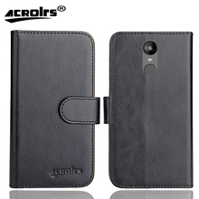 Irbis SP541 Case 6 Colors Dedicated Soft Flip Leather Special Crazy Horse Phone Cover Cases Credit Card Wallet