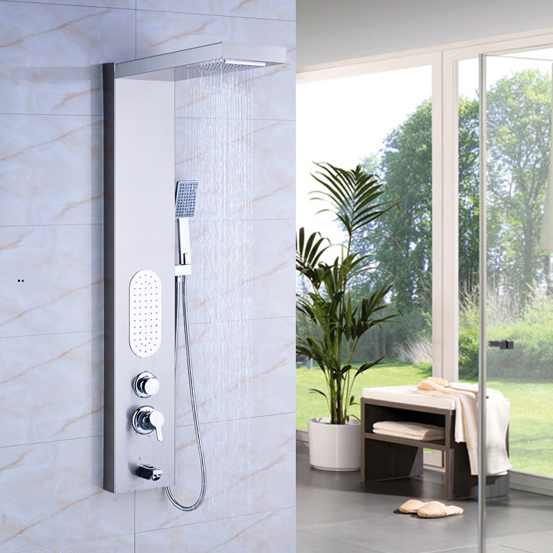Factory Direct Sale Waterfall Rain Shower Panel Body Sprayer Jets ...