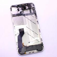 New Replacement Original Middle Frame Housing Plate Board With Parts Assembly For iPhone 4S,Silver
