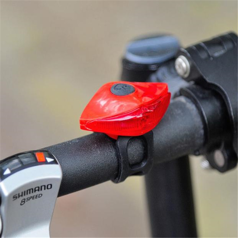 LED Waterproof Bike Bicycle Cycling Front Rear Tail Helmet Red Flash Lights Safety Warning Lamp Safety Caution Light #2M28