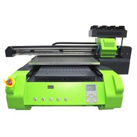 Большая рабочая зона УФ печатная машина цветной УФ принтер 600x600 мм высота печати мм 150 мм 8 цветов сопла Бесплатная налог на RU