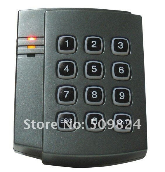 ФОТО Free shipping+proximity PIN Keyboard IC card reader with wiegand26 for Access Control,sn:B04  +min:1pcs