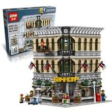 LEPIN Bricks 15005 Presale City Creator Grand Emporium Model Building Blocks Kits 2182pcs  Brick Toy