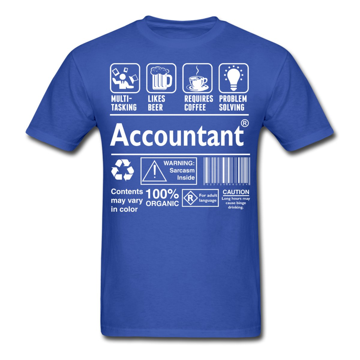 Accountant Funny Definition Mens T-Shirt Different Colours High Quality 100% T shirt Men 2017 New Casual Man Tees Mens Tops