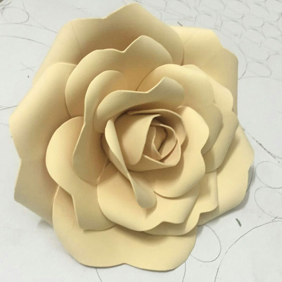 Magnificent White 3d Flower Wall Decor Elaboration - The Wall Art ...
