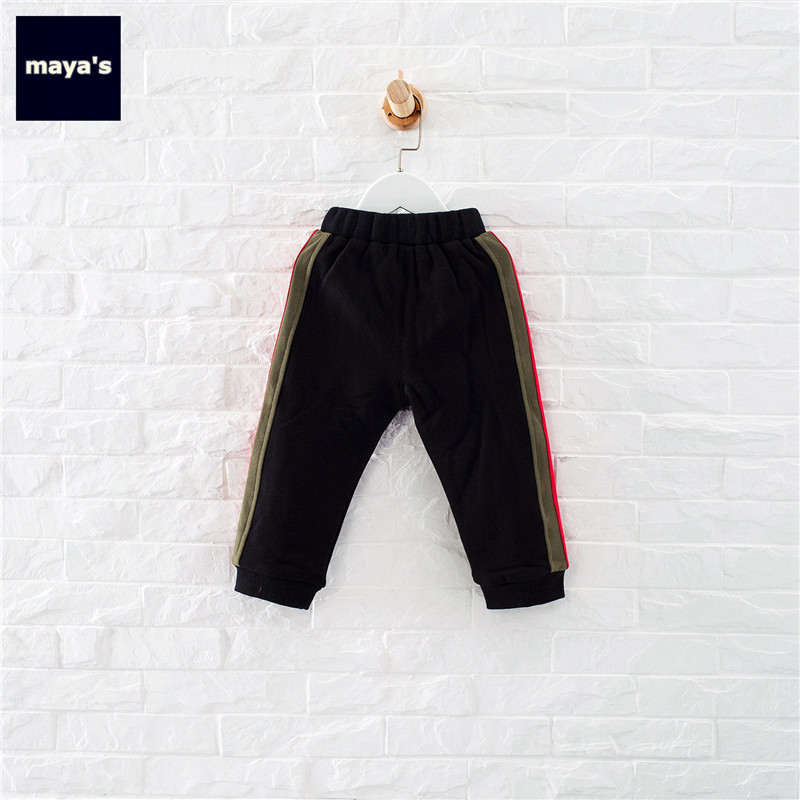 7bb84f83cd0 Mayas Fashion Side Striped Autumn Boys Pants Black Fashion Cargo Girls Pants  Army Green Winter Kids Pants Free Shipping 81261-in Pants from Mother   Kids  on ...
