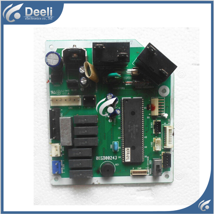 Подробнее о 95% new good working for air conditioning computer board KFR-61L 0KGD00243 PC control board on sale 95% new good working for air conditioning computer board ju7 820 1730 pow 20fh pc board circuit board on sale