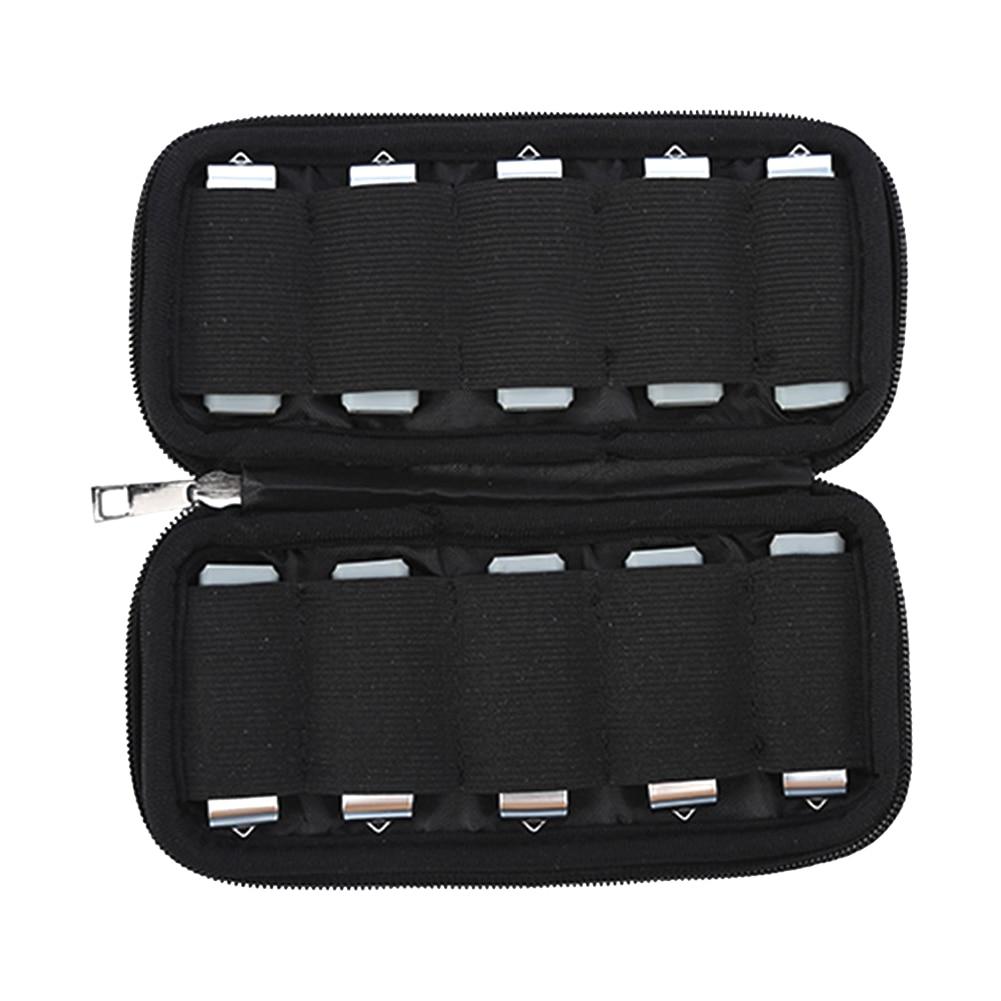 Прочный Чехол Органайзер флэш-накопители защитный дорожный портативный держатель для хранения U-диск сумка USB молния пылезащитный ударопро...