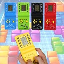 Видео игра тетрис игровая консоль кирпичная рука кирпичная тетрис игровая игрушка горячая Распродажа Прямая поставка