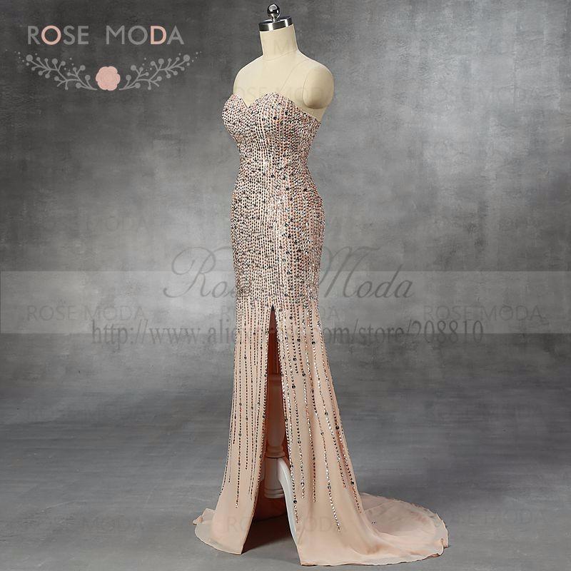 nude prom dressb
