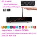 HiMedia Q10 PRO UltraHD Smart Android 5.1 TV Box 3D 4K 2G/16G BT4.0 2.4G/5G Dual WiFi & HDD Bay + Rii Mini X1 Wireless Keyboard